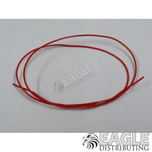 Teflon® spring insulation, red