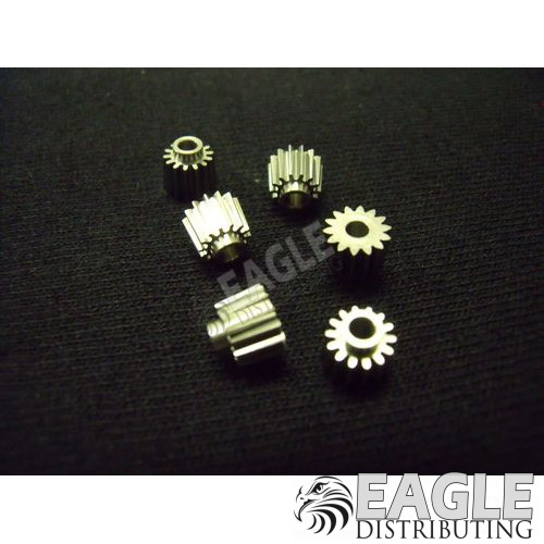 14 tooth, 72 pitch, 5° angle pinion gear