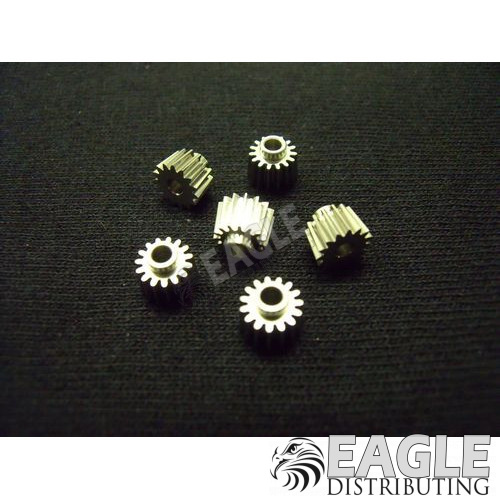 15 tooth, 72 pitch, 5° angle pinion gear