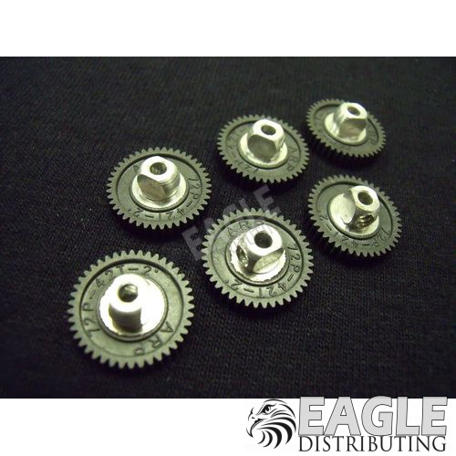 42 Tooth, 72 Pitch, 2° precision plastic Spur Gear