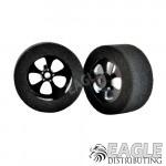 "3/32 x 1 3/16 x .500 20"" Black Blade Drag Wheels"