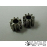 9T 64P solder-on pinion gear