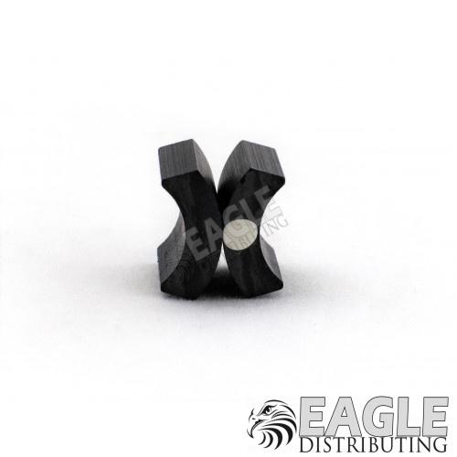Tornado 2 beveled ceramic C-can magnets
