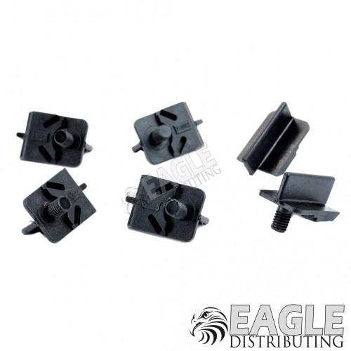 Guide Starburst Black Nylon Fiber Threaded.  Precise and Durable-CAH32T