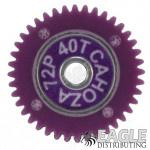 40T 72P HD Polymer Spur Gear