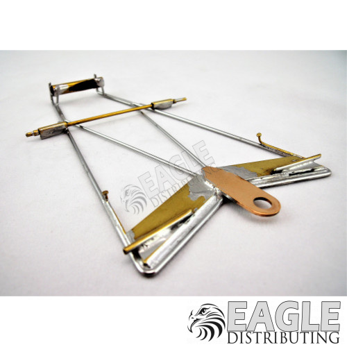 Econo Tripod Wing Car Chassis-CR002