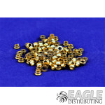 3/32 Brass Wheel Keeper .085 Wide (100)