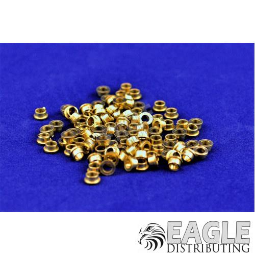 3/32 Brass Wheel Keeper .085 Wide (100)-CR008