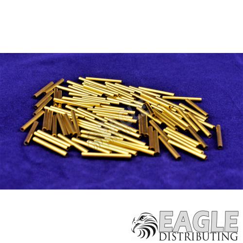 1/16 Brass Pin Tubing .600 Long (100)-CR009