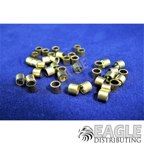 3/32 x .100 Brass Axle Spacers-CR010