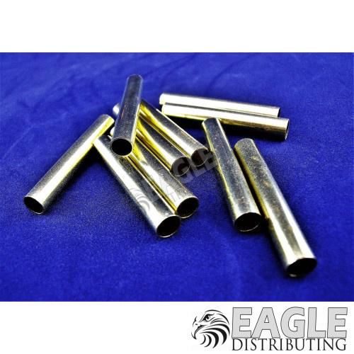 7/32 x 3/16 x 1.4 Long Pre-cut Brass Axle/Bearing Tube (10)-CR012