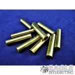 7/32 x 3/16 x 1.1 Long Pre-cut Brass Axle/Bearing Tube (10)