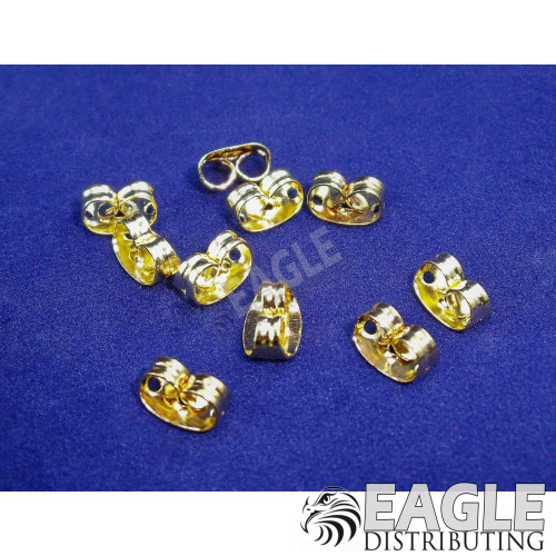 Gold Lead Wire Retainer (10)