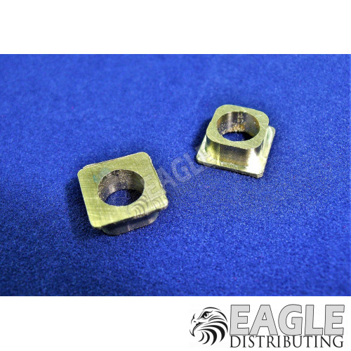 3/16 x 1/4 Machined Square Bearing Holder-CR053