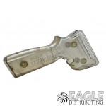 Silver Metallic Controller Handle w/Hardware