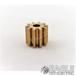 10T 48P Brass Pinion press fit