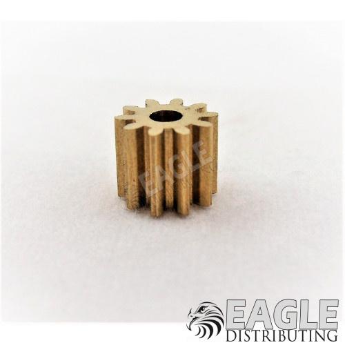 10T 48P Brass Pinion press fit-DE50110