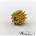 11T 48P Brass Pinion press fit