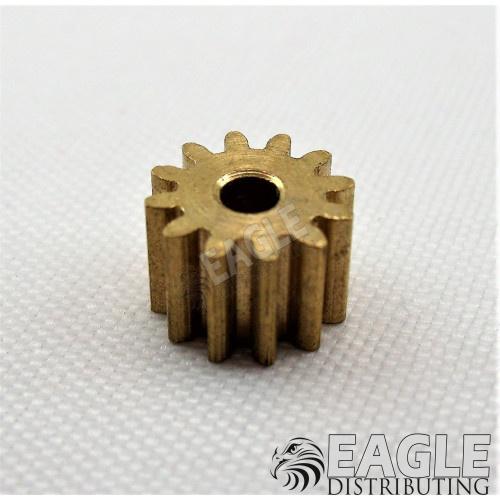 12T 48P Brass Pinion press fit-DE50112