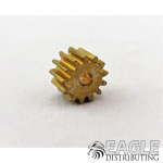 13T 48P Brass Pinion press fit
