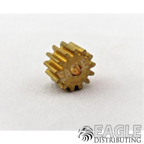 13T 48P Brass Pinion press fit-DE50113