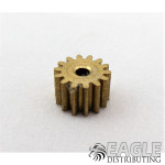 14T 48P Brass Pinion press fit