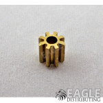 8T 48P Brass Pinion press fit