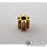 8T 48P Brass Pinion press fit