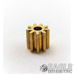 9T 48P Brass Pinion press fit