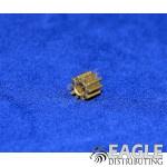 10T 64P Brass Pinion (1)