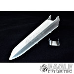 Plastic Dragster Body w/Clear Plastic Windscreen
