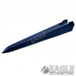 Blue Carbon Fiber Hydro Dipped Plastic Dragster Body