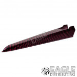 Red Carbon Fiber Hydro Dipped Plastic Dragster Body