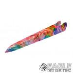 Multi Colored Swirls Dragster Body