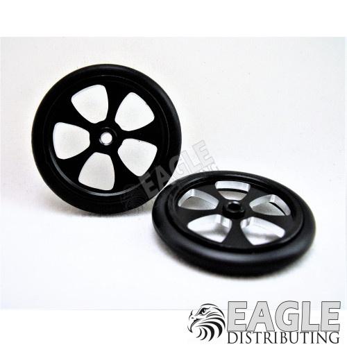 Drag Front Wheels Blades 17 Black