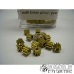 48 Pitch, 10T Brass Pinion