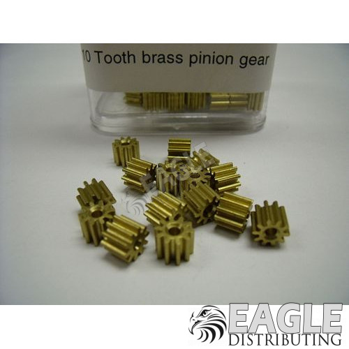 10T Brass Pinion(100)