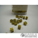 12T 48P Brass Pinion Bulk