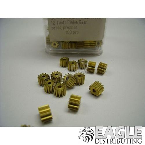 12T Brass Pinion(100)