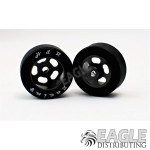 1/8 x 27mm x 12mm Black Rubber Fronts