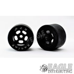 1/8x27x18mm Rubber Tire w/Black Wheel