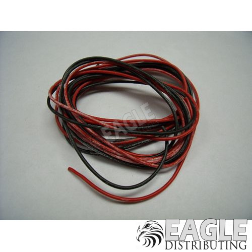 Lead Wire Black & Red