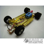 1/24 Scale RTR Less Body w/Adjustable Chassis, 40K RPM Motor, Nat. Rubber Tires