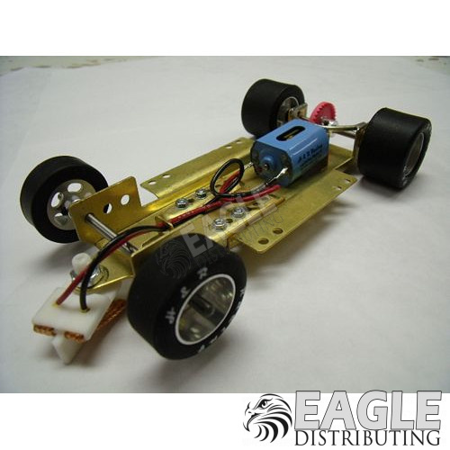 1/24 Scale RTR Less Body w/Adjustable Chassis, 40K RPM Motor, Silicon Tires-HRCH05