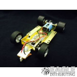 1/24 Scale RTR Less Body w/Adjustable Chassis, 26K RPM Motor, Silicon Tires, Silver Wheels