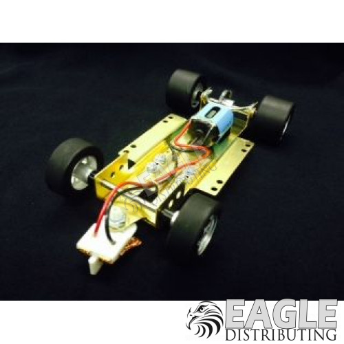 H&R 1/24 scale adjustable slot car chassis, Silicone tires