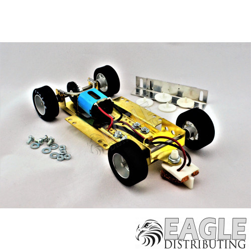 1/24 Scale RTR Less Body w/Adjustable Chassis, 26K RPM Motor, Silicon Tires-HRCH09