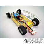 1/24 Scale RTR Less Body w/Adjustable Chassis, 18K RPM Motor, Silicon Tires