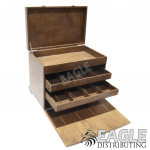 Economy Wood Slot Car Pit Box