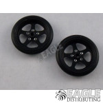 3/4 O-ring Black Pro Star Drag Front Wheels